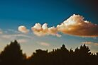 Summer sky above Moscow by Anna Alferova