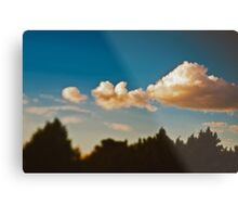 Summer sky above Moscow Metal Print