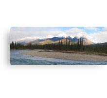 River to the Rockies Canvas Print