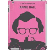 No147 My Annie Hall minimal movie poster iPad Case/Skin