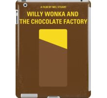 No149 My willy wonka and the chocolate factory minimal movie poster iPad Case/Skin