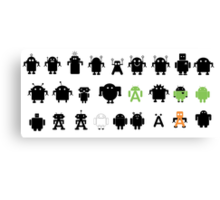Android Explorer ! Canvas Print