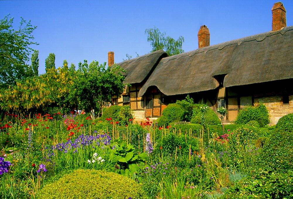 Anne Hathaway's Cottage by Nancy Barrett