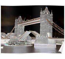 Tower Bridge Opening 2. Poster