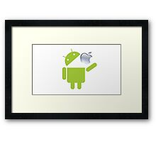 My Best Android ! Framed Print