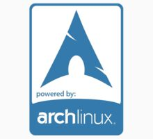 Powered by ArchLinux ! by rootstock