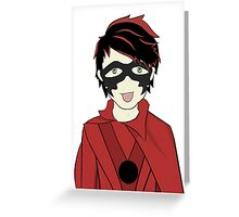 Mike-Ro-Wave Greeting Card
