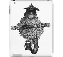 ride to something visceral   iPad Case/Skin