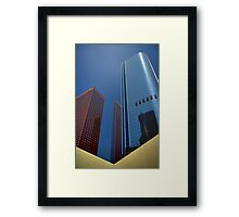 Getting The Point Framed Print