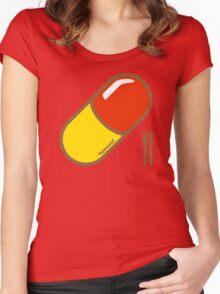 Rhubarb & Custard  Women's Fitted Scoop T-Shirt