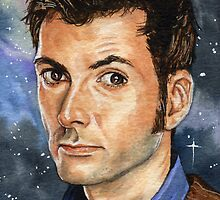 Doctor Who: David Tennant by marksatchwillart