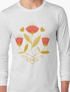 flowers everywhere/3 Long Sleeve T-Shirt