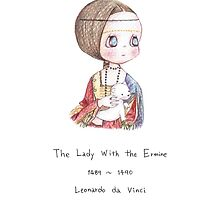 The Lady with the ermine by RichMii