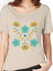 flowers everywhere/2 Women's Relaxed Fit T-Shirt