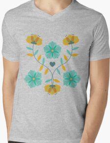 flowers everywhere/2 Mens V-Neck T-Shirt
