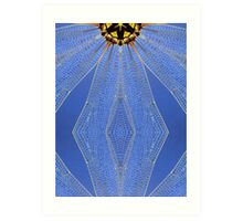 Dragonfly Wings altered image Art Print