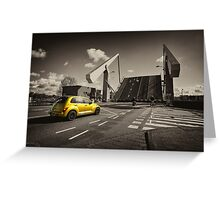 PT cruiser bridge  Greeting Card