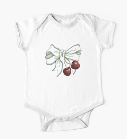 cherries-ribbon Kids Clothes