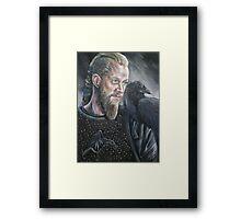 Ragnar Lothbrok Framed Print
