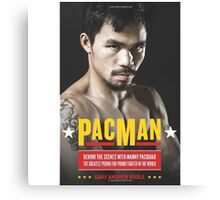 MANNY PACQUIAO | PAC-MAN Canvas Print
