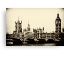Parliament Buildings, London Canvas Print
