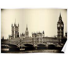 Parliament Buildings, London Poster