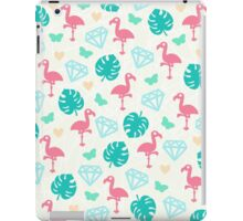 Miami Beach Pastels Pattern iPad Case/Skin