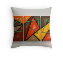 Three Points Of View  Throw Pillow
