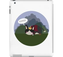 Lil' Cait Sith meowing iPad Case/Skin