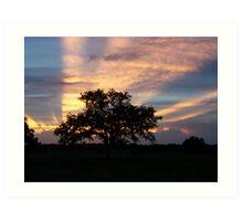 The Perfect Sunset Art Print