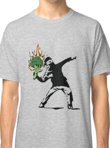 Vegan Banksy Classic T-Shirt