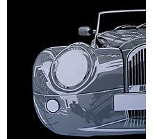 MORGAN AERO 8, FRONT, BLACK AND WHITE Photographic Print