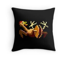 Rubber chicken with a pulley in the middle (Monkey Island) Throw Pillow