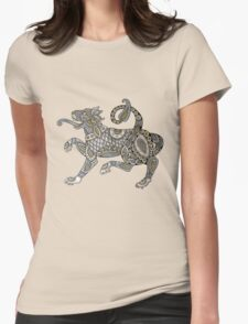 Celtic Lion Tee Womens Fitted T-Shirt
