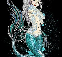 Tattooed Siren by Miss Cherry  Martini