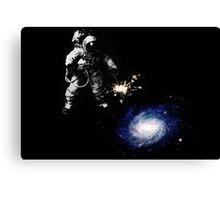 Lighting Up The Galaxy Canvas Print