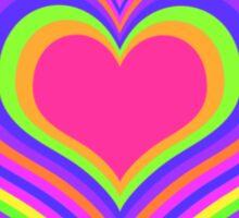 Hypno Heart T-Shirt Sticker
