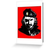 Big Boss Che Guevara  Greeting Card