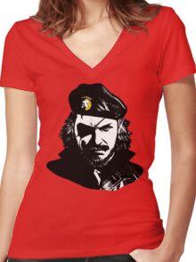 Big Boss Che Guevara  Women's Fitted V-Neck T-Shirt
