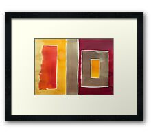Abstract 1046 Framed Print