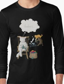 Of Cats and Yarn Long Sleeve T-Shirt