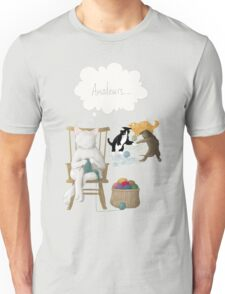 Of Cats and Yarn Unisex T-Shirt
