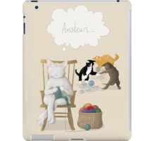 Of Cats and Yarn iPad Case/Skin