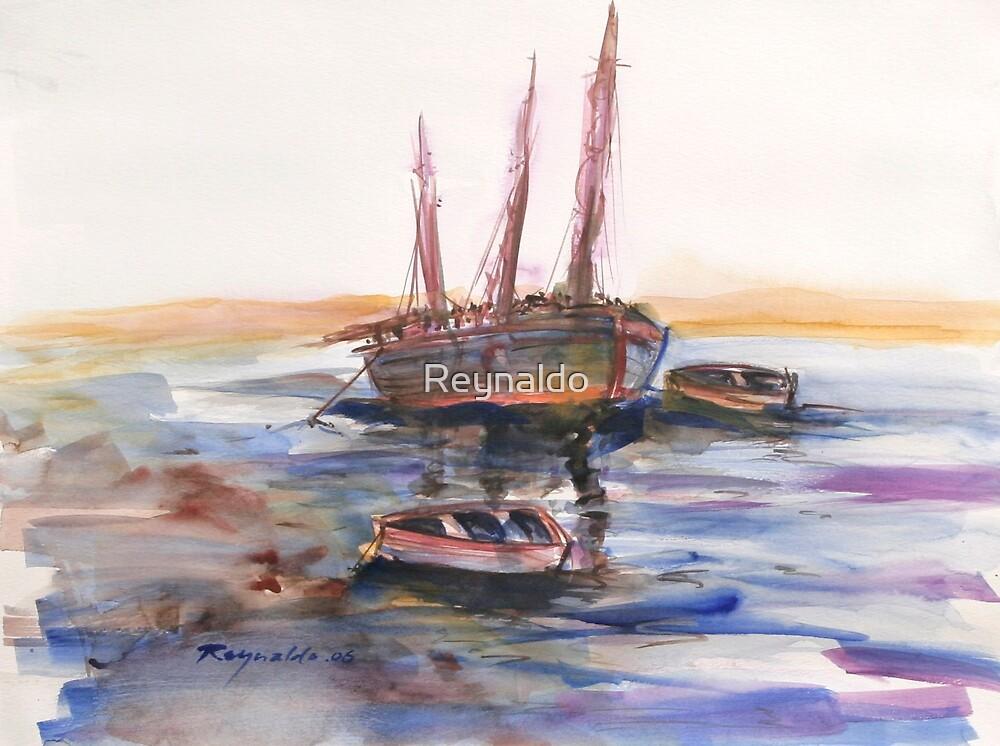 Adrift  by Reynaldo