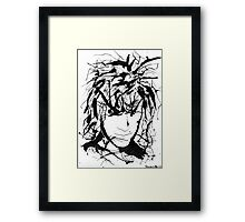 Going Mad Framed Print