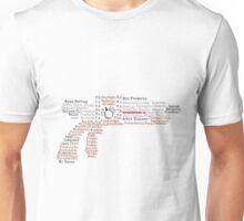 Tesla Typography Unisex T-Shirt