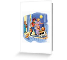 Dick and jane Trick or Treat Greeting Card