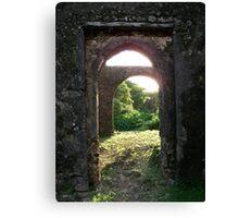 Ancient Arches, Kenya Canvas Print
