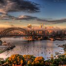 MOODS OF A CITY - SYDNEY HARBOUR  #1 - PHILIP JOHNSON PHOTOGRAPHY by Philip Johnson