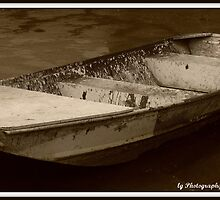 Dingy at the Battleship by lgPhotography